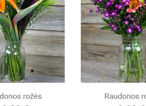 Elektroninės parduotuvės kūrimas: Ti Amo gėlės